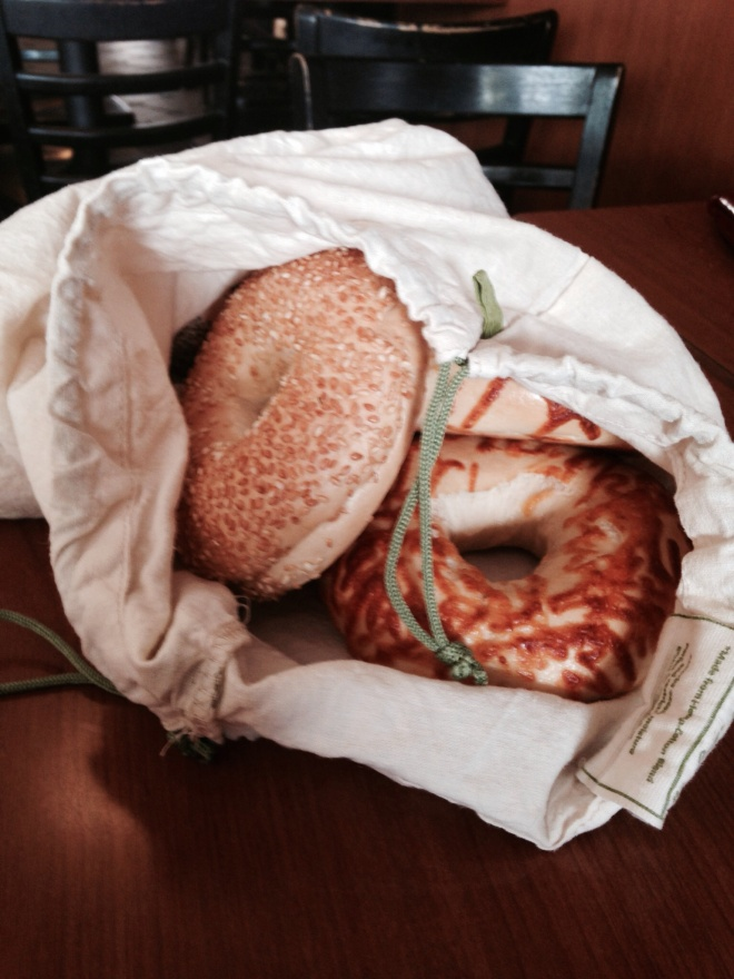 Bring My Own Bag for Bagels.