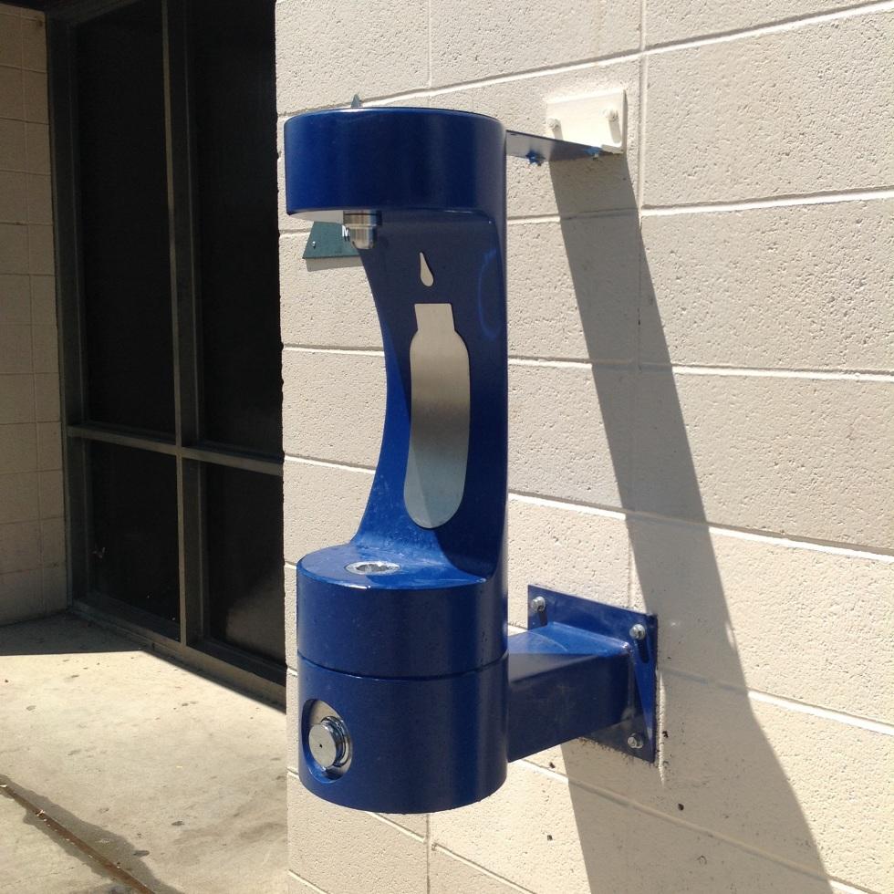 Water Refill Station at Davis High